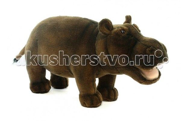 Мягкие игрушки Бегемот 30 см, Hansa