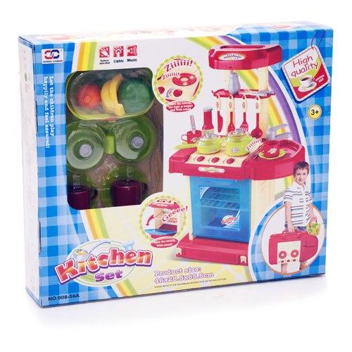 Ролевые игры Кухня-трансформер Маленькая хозяйка 008-56A, Ocie