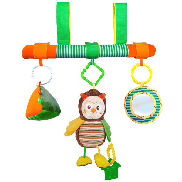 Подвесные игрушки на перекладине Совёнок, Мякиши