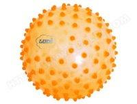 Развивающий массажный мяч, 20 см (оранжевый), Ludi