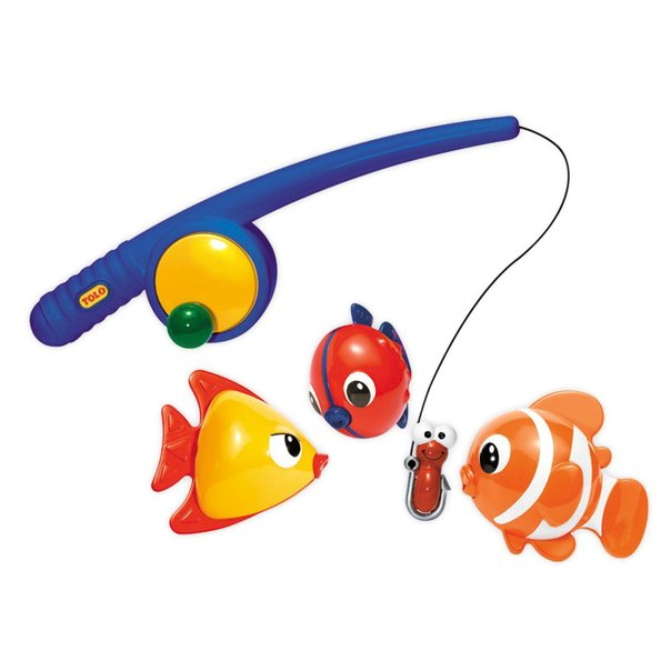 Игрушки для купания Рыбалка магнитная, Tolo Toys