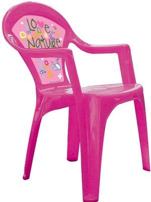 Пластиковая мебель Стул Barbie, Grand Soleil