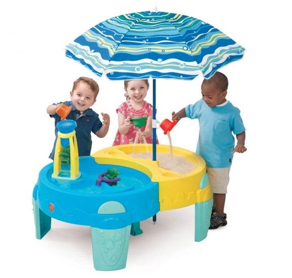 Песочницы Оазис столик для игр с песком и водой, Step 2