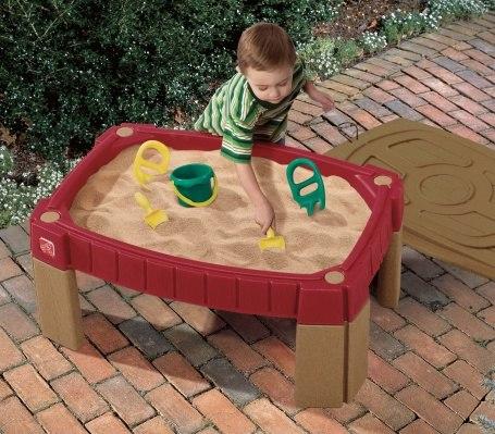 Песочницы Стол для игры с песком, Step 2