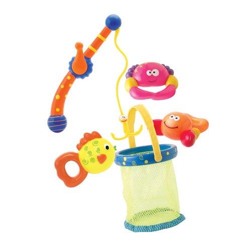 Игрушки для купания Набор для ванной Рыбалка, Bebelino