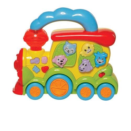 Электронные игрушки Игрушка Паровозик Веселый зоопарк, Bebelino