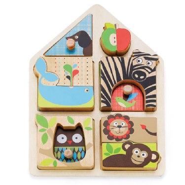Деревянные игрушки Пазл Alphabet Matching Game, Skip-Hop
