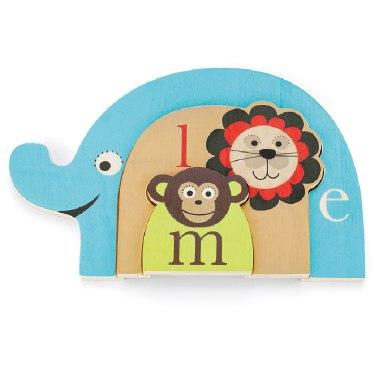 Деревянные игрушки Пазл Alphabet Nesting Animal Puzzle, Skip-Hop
