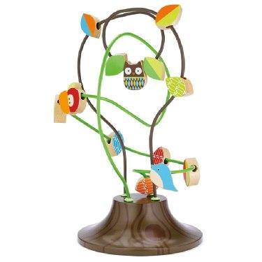 Деревянные игрушки Treetop Busy Bead Tree, Skip-Hop