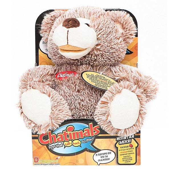 Интерактивные игрушки Медведь повторюшка, Dragon
