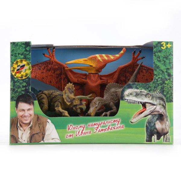 Игровые фигурки Набор динозавров, Играем вместе