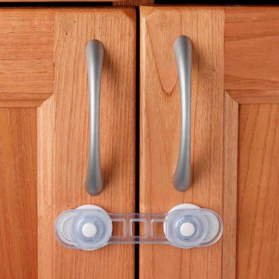 Блокирующие устройства Защитный замок для дверей 2 шт., Clippasafe