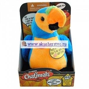 Интерактивные игрушки Попугай-повторюшка 80092B, Dragon