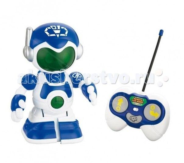 Интерактивные игрушки Робот синий + пульт управления, Keenway