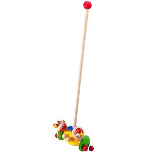 Деревянные игрушки Каталка Краб, Wonderworld