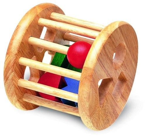 Деревянные игрушки Сортер-погремушка, Wonderworld