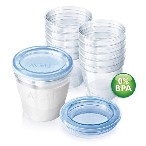Контейнеры Набор контейнеров для хранения молока SCF612/10, Philips-Avent