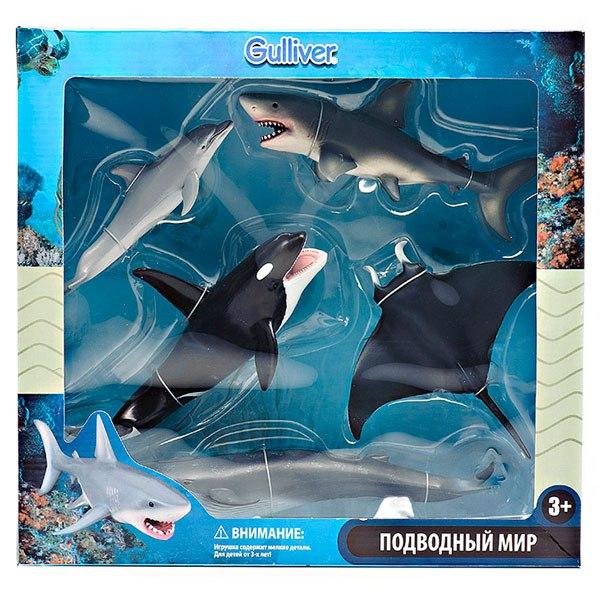 Игровые фигурки Игровой набор Обитатели Морей, Gulliver
