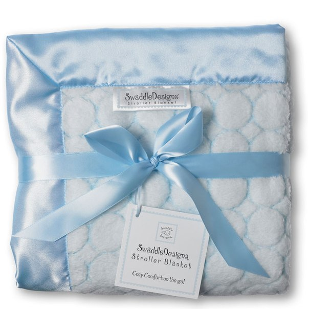 Пледы для новорожденных Stroller Blanket, SwaddleDesigns