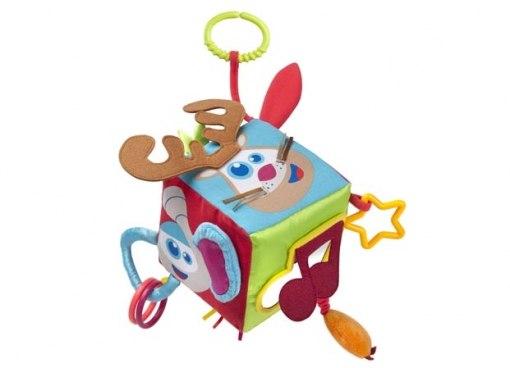 Подвесные игрушки Развивающий Кубик, Babymoov