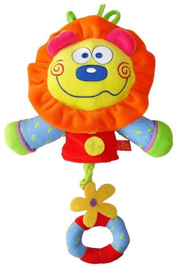Подвесные игрушки Львенок музыкальный, Мир детства