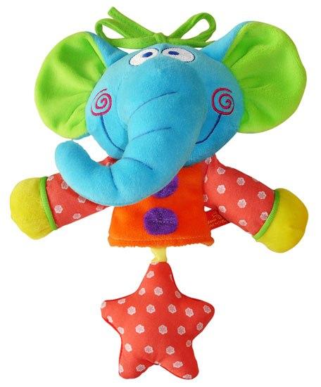 Подвесные игрушки Слоненок музыкальный, Мир детства