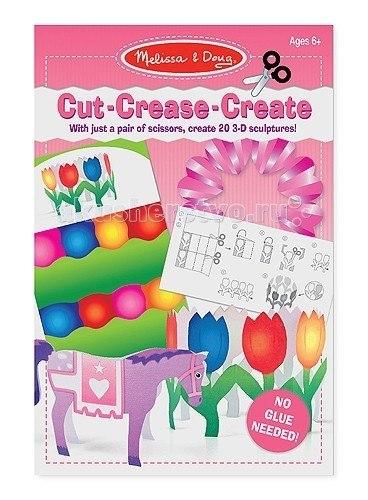 Наборы для творчества Оригами без клея розовый, Melissa & Doug