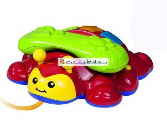 Электронные игрушки Телефон-каталка, Simba