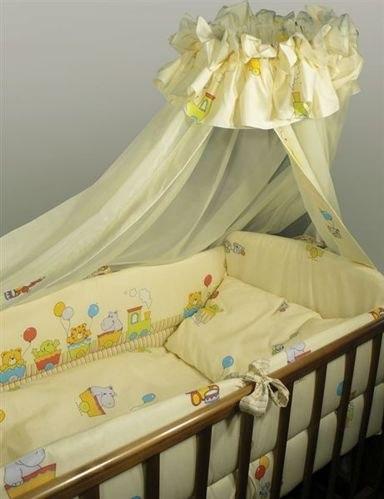 Комплекты для кроваток Паровозик (7 предметов), Топотушки