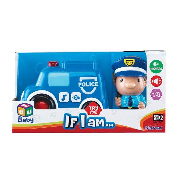 Машины Игровой набор Полицейский, Keenway