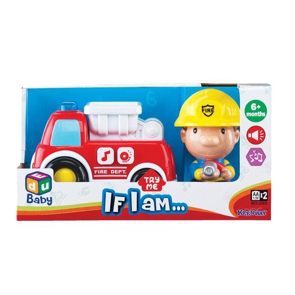 Машины Игровой набор Пожарник, Keenway