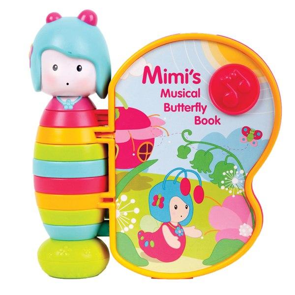 Музыкальные книжки Книжка Бабочка Мими, Ouaps