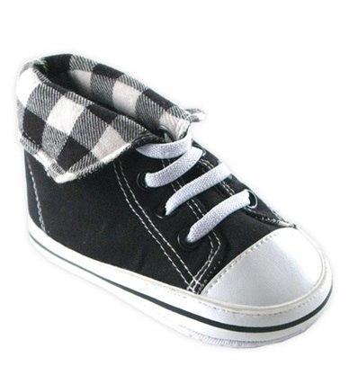 Обувь и пинетки Высокие сникерсы для мальчика 6-12 мес., Luvable Friends