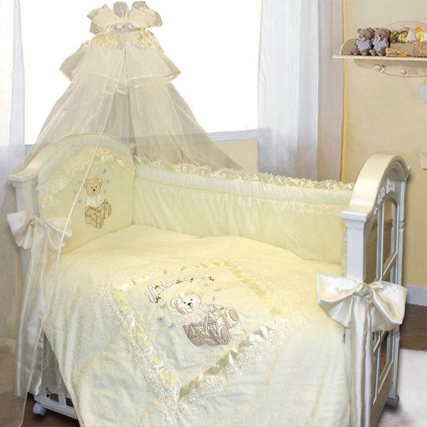 Комплекты для кроваток Рафаэлло 140х70 (10 предметов), Золотой Гусь