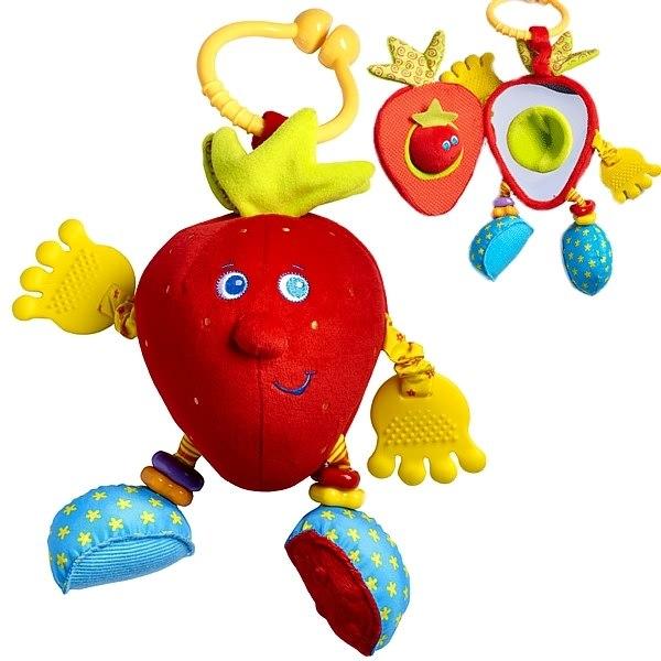 Подвесные игрушки Развивающая Клубничка Салли (серия Друзья фрукты), Tiny Love