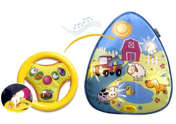 Интерактивные игрушки Интерактивная игра для использования в автомобиле Ферма, Tiny Love