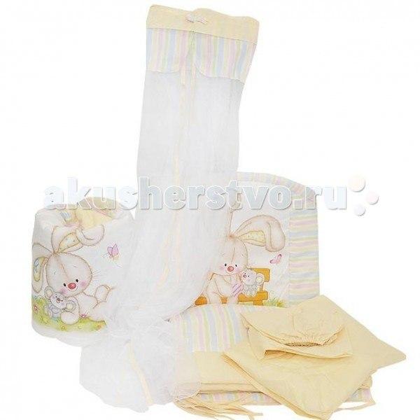 Комплекты для кроваток Радужный (7 предметов), Золотой Гусь