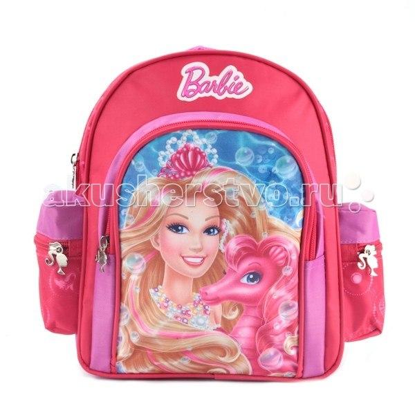 Сумки для детей Рюкзак дошкольный стандарт Barbie, Играем вместе