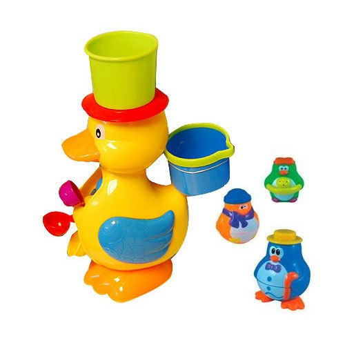 Игрушки для купания Игрушка для ванной Утенок и пингвины, Roxy