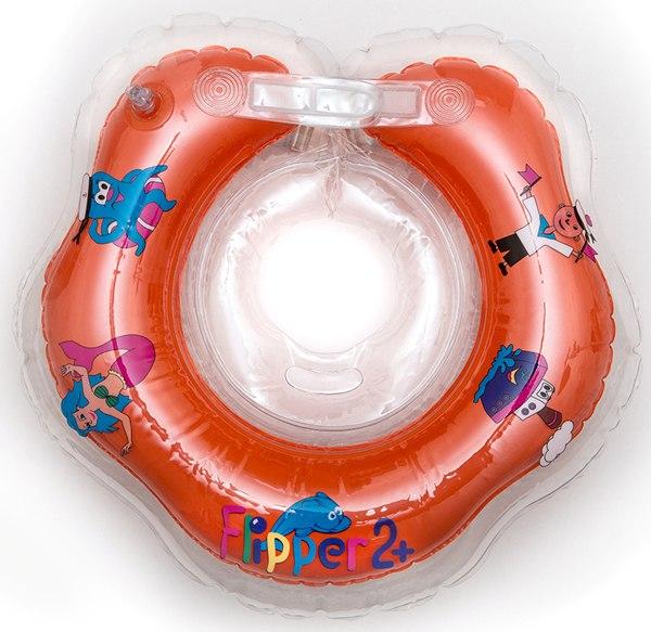 Круги для купания Flipper 2+ на шею для малышей, Roxy
