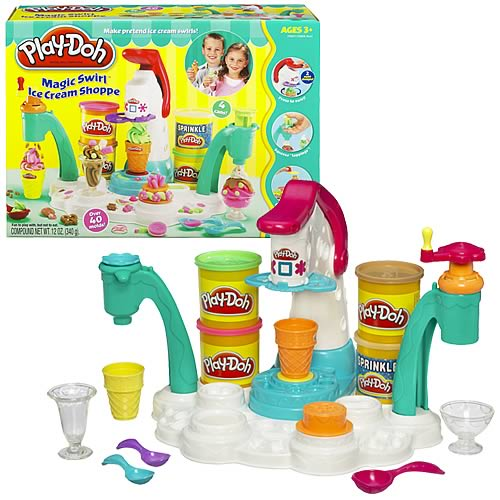 Пластилин Hasbro Игровой набор Фабрика мороженого, Play-Doh