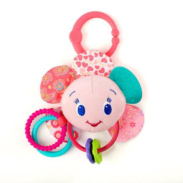 Подвесные игрушки Розовый цветок, Bright Starts