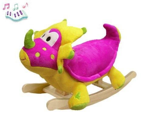 Качалки-игрушки Розовый Дино, Felice