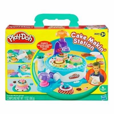 Пластилин Hasbro Набор пластилина Фабрика тортиков, Play-Doh