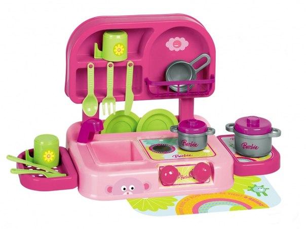 Ролевые игры Barbie Большой набор Кухня (12 предметов), Faro
