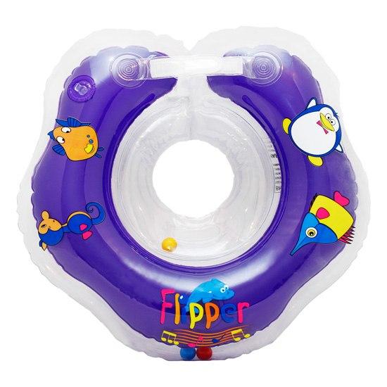 Круги для купания Flipper Music на шею музыкальный, Roxy