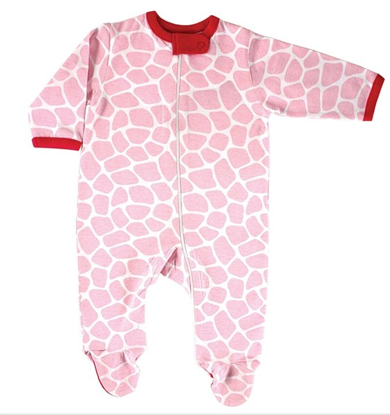 Детский трикотаж Комбинезон на молнии розовый, Luvable Friends