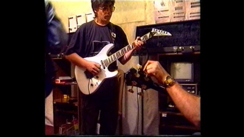 Фолк рок группа Сак Сок г Набережные Челны 1994 год