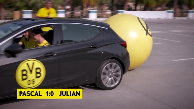 Opel ASTRA Challenge - Julian Weigl vs Pascal Stenzel