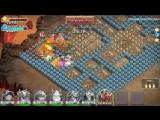 Кошмарные Подземелья 1-3 и 2-1 на три звезды. Insane Dungeon 1-3, 2-1 3 flames. Castle Clash #174